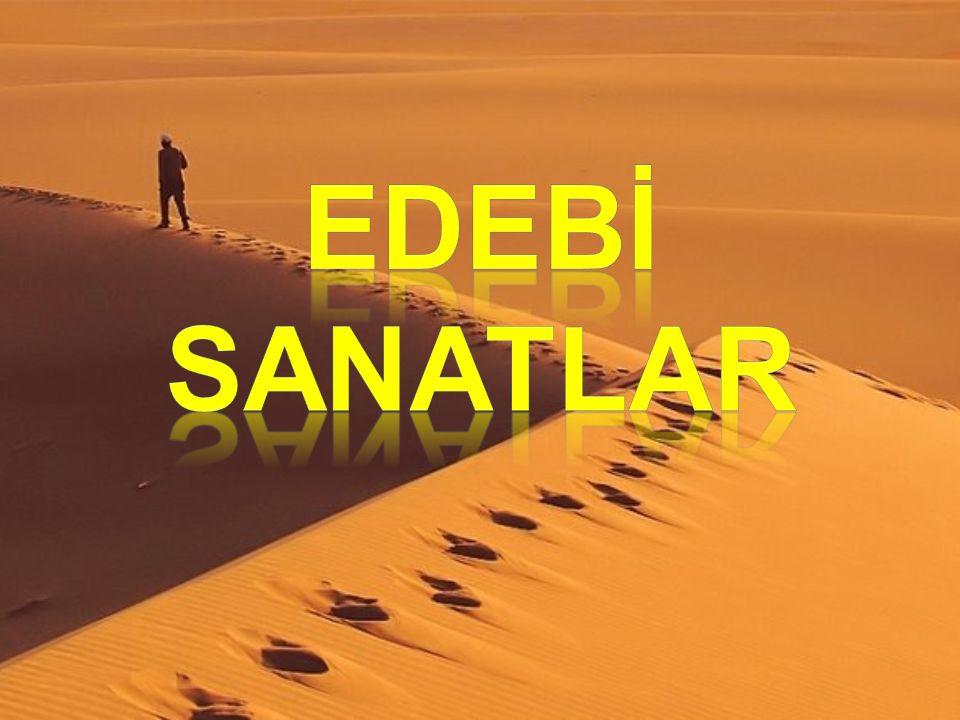 EDEBİ SANATLAR