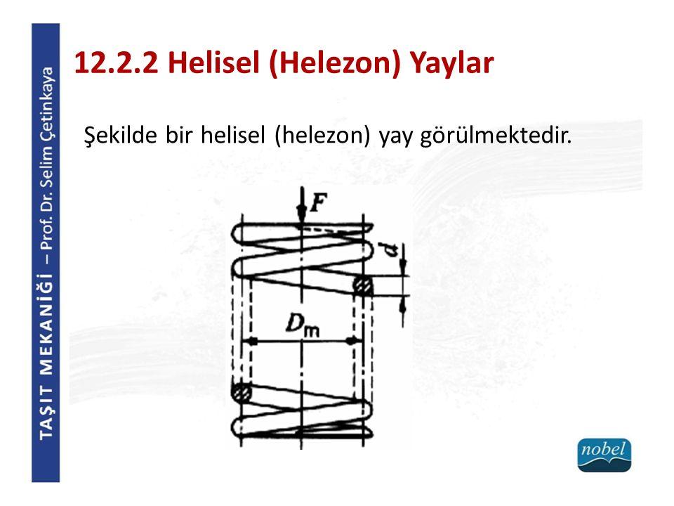 12.2.2 Helisel (Helezon) Yaylar
