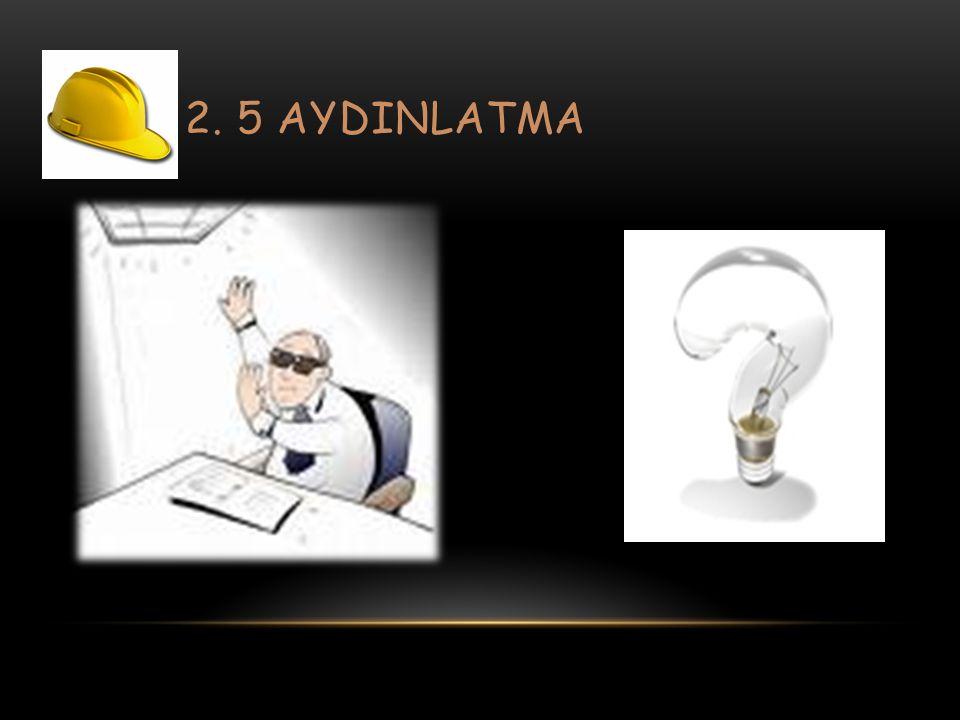 2. 5 AYDINLATMA