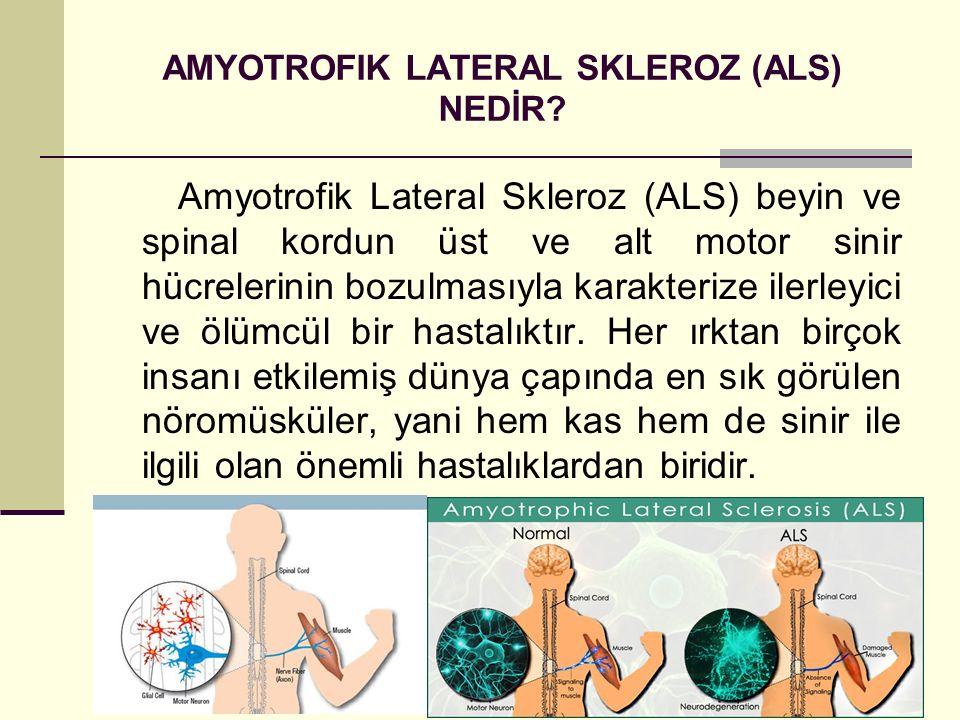 AMYOTROFIK LATERAL SKLEROZ (ALS) NEDİR