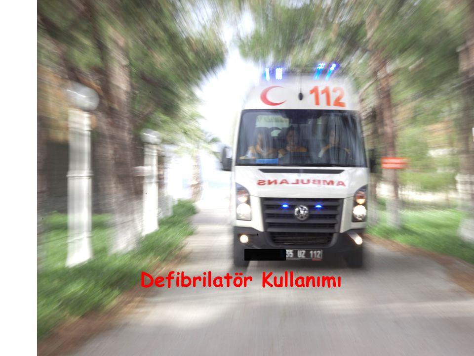 Defibrilatör Kullanımı