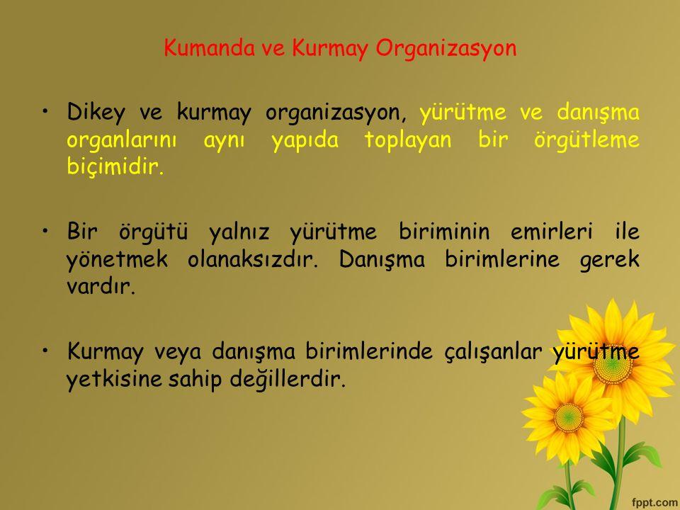 Kumanda ve Kurmay Organizasyon