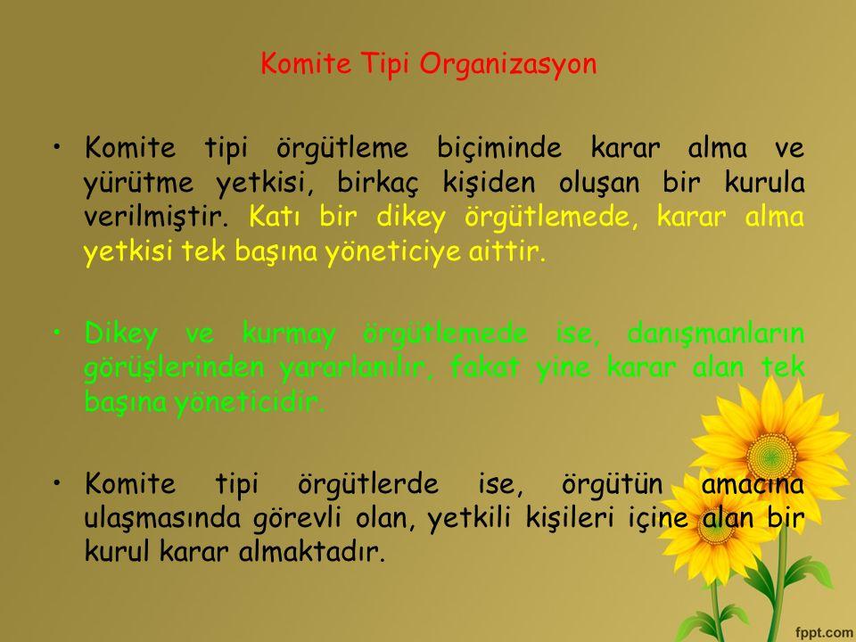 Komite Tipi Organizasyon