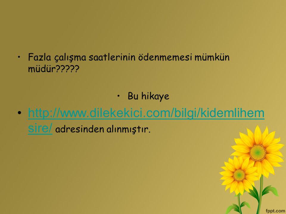 http://www.dilekekici.com/bilgi/kidemlihemsire/ adresinden alınmıştır.