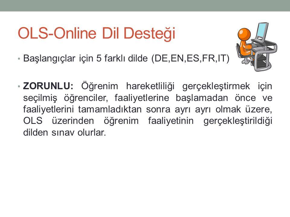 OLS-Online Dil Desteği