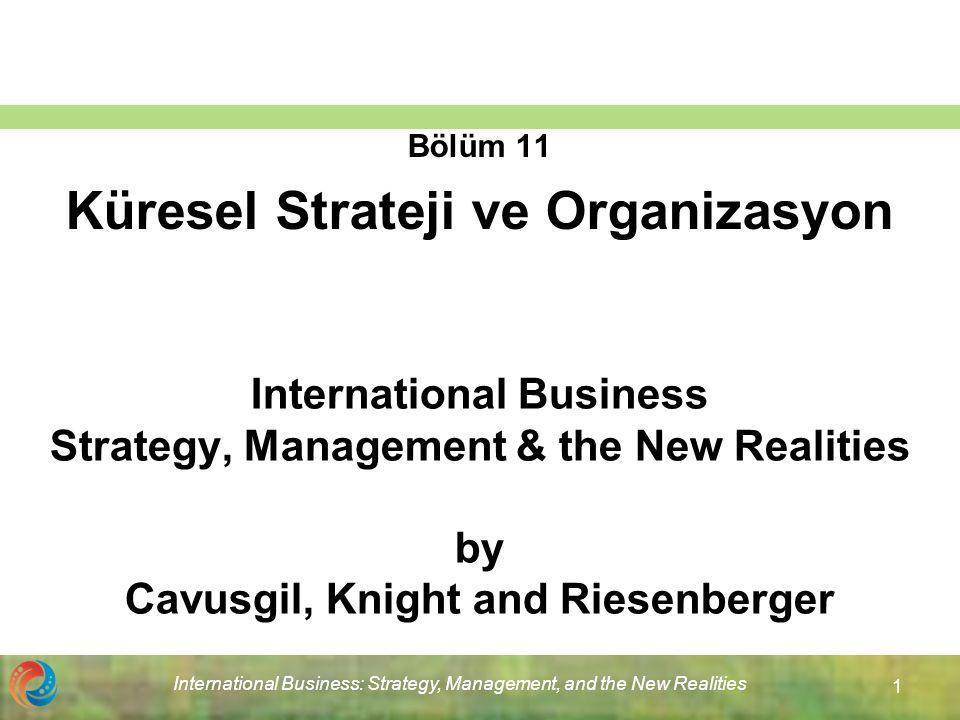 Bölüm 11 Küresel Strateji ve Organizasyon