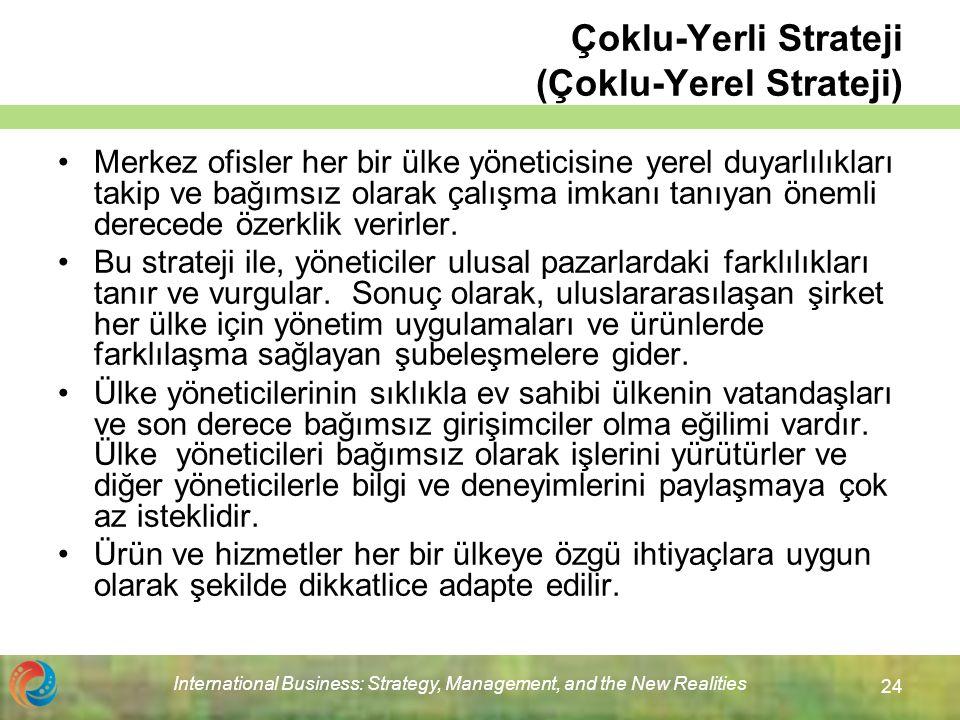 Çoklu-Yerli Strateji (Çoklu-Yerel Strateji)