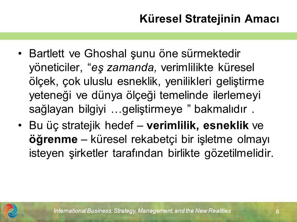 Küresel Stratejinin Amacı