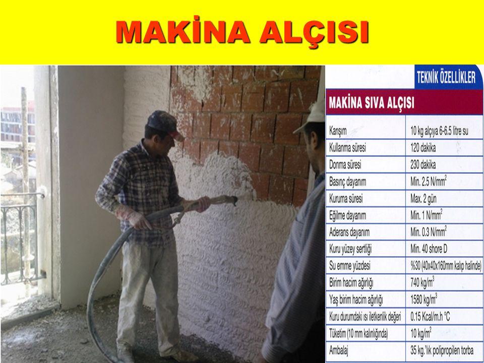 MAKİNA ALÇISI