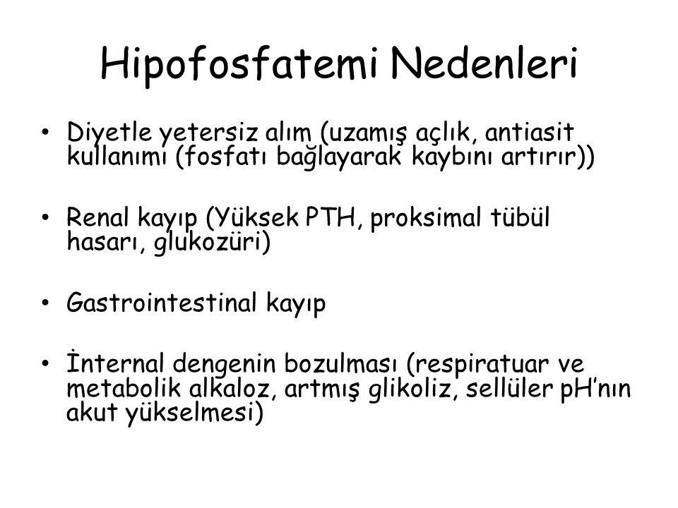 Hipofosfatemi Nedenleri