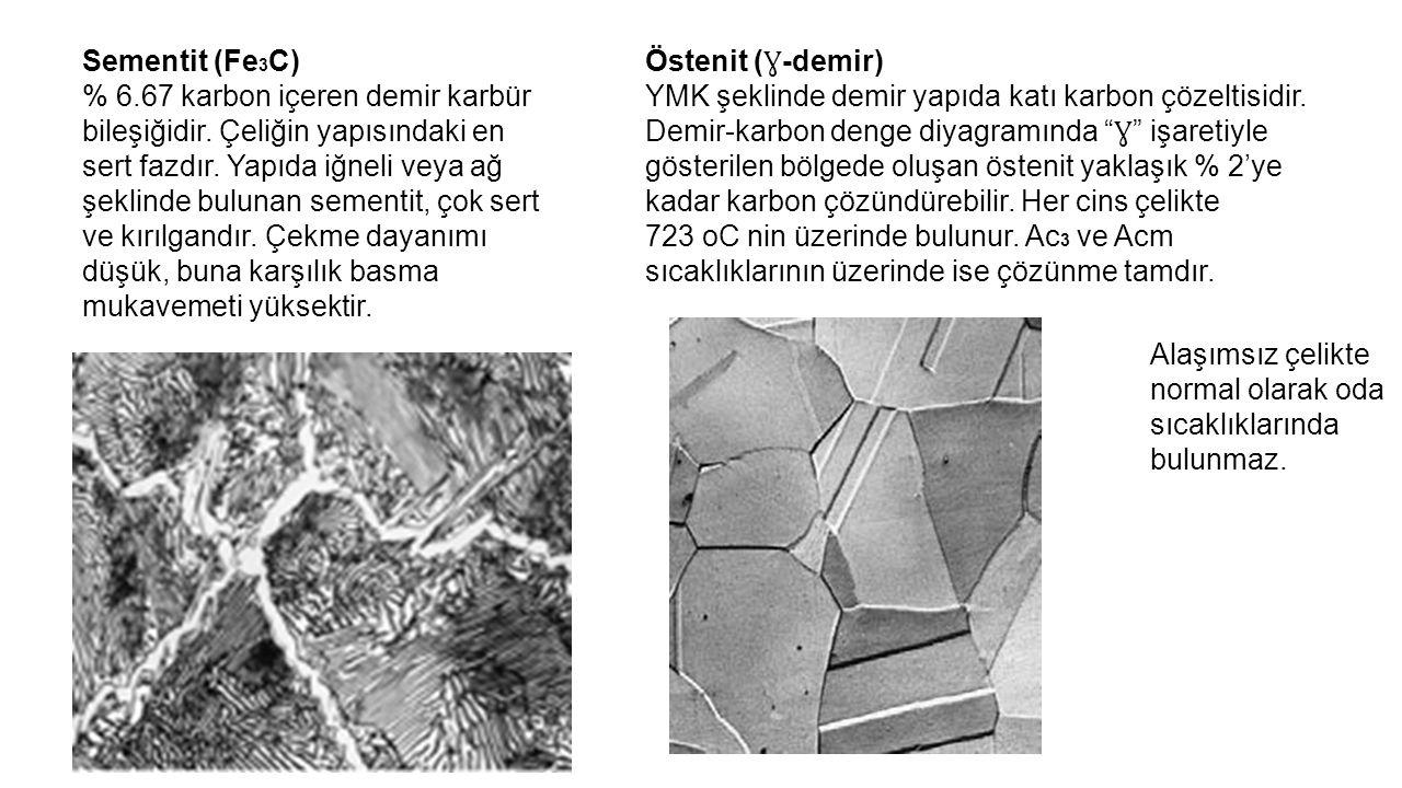 Sementit (Fe3C)