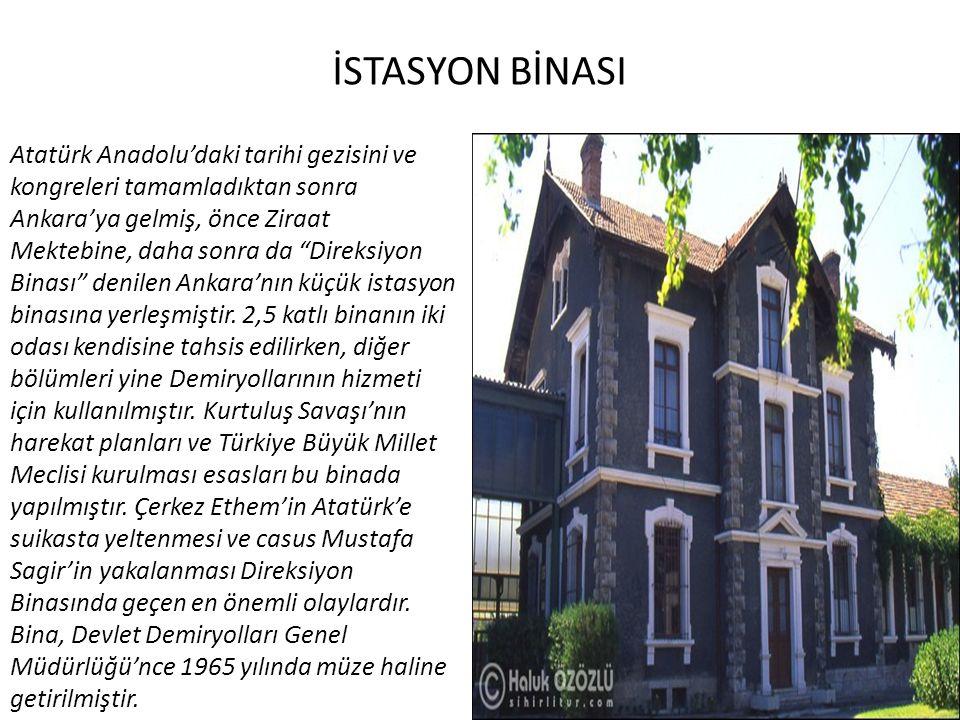 İSTASYON BİNASI