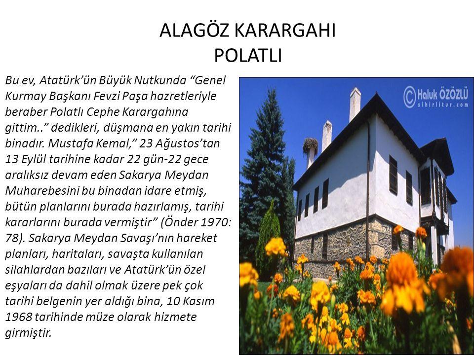 ALAGÖZ KARARGAHI POLATLI