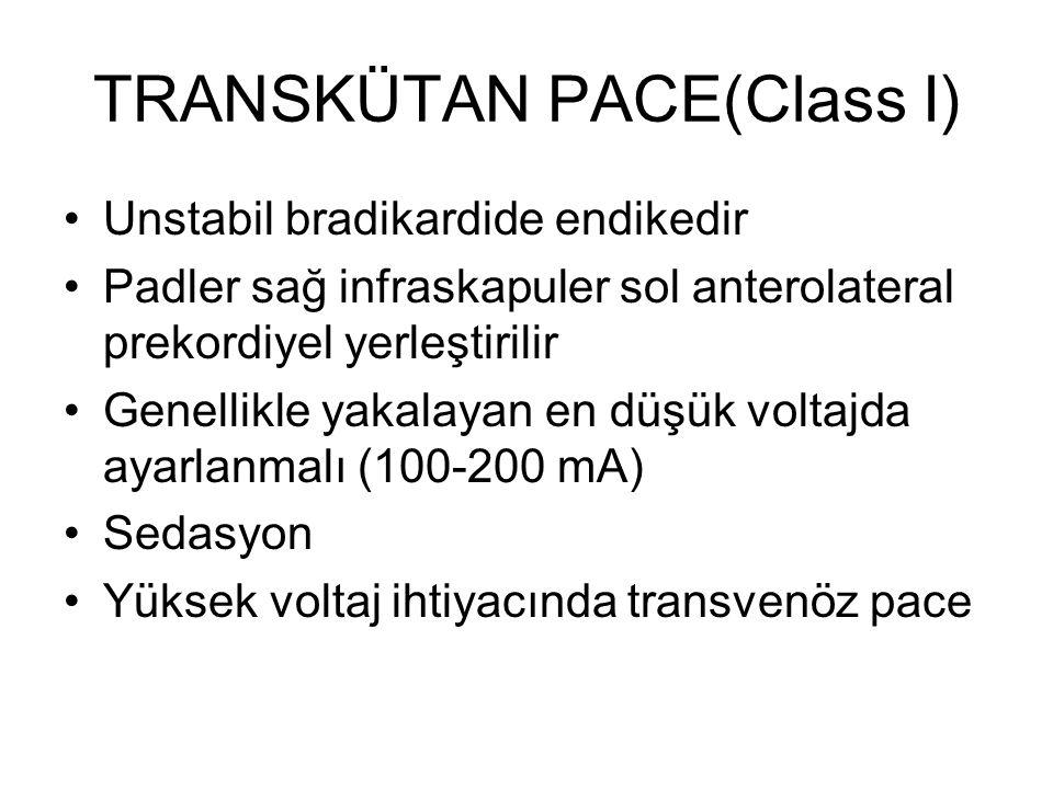 TRANSKÜTAN PACE(Class I)