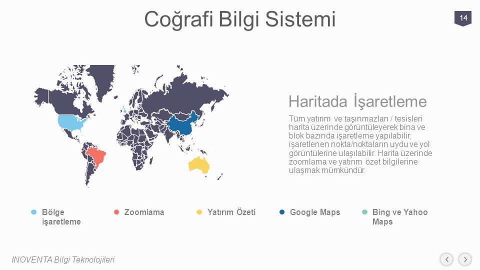 Coğrafi Bilgi Sistemi Haritada İşaretleme