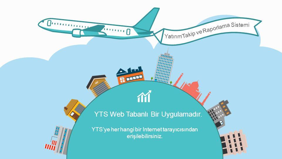 YTS'ye her hangi bir Internet tarayıcısından erişilebilirsiniz.