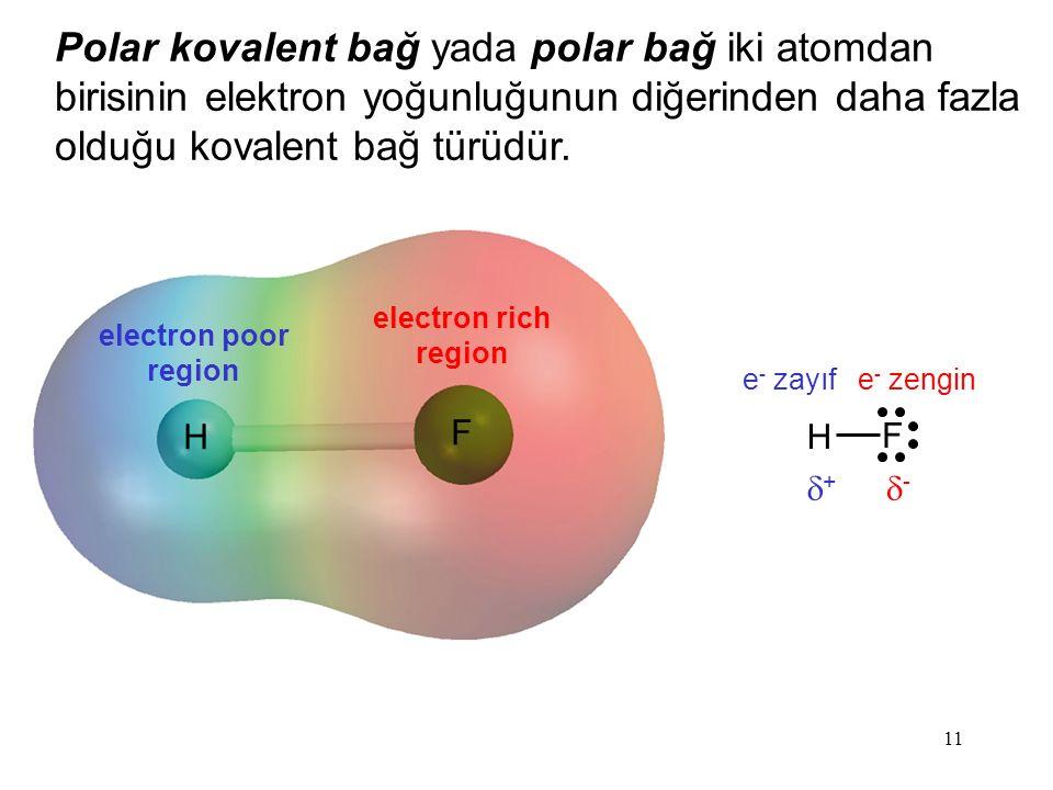 Polar kovalent bağ yada polar bağ iki atomdan birisinin elektron yoğunluğunun diğerinden daha fazla olduğu kovalent bağ türüdür.
