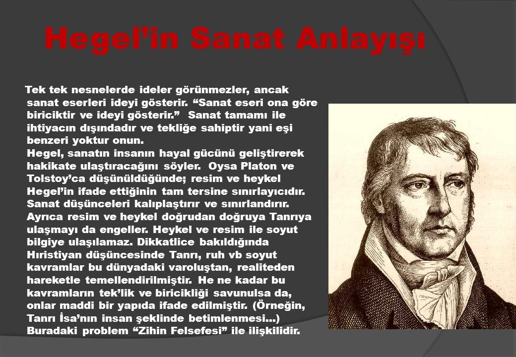 Hegel'in Sanat Anlayışı