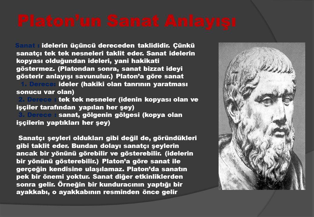 Platon'un Sanat Anlayışı