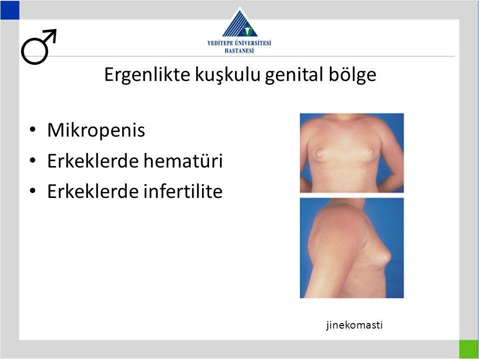 Ergenlikte kuşkulu genital bölge