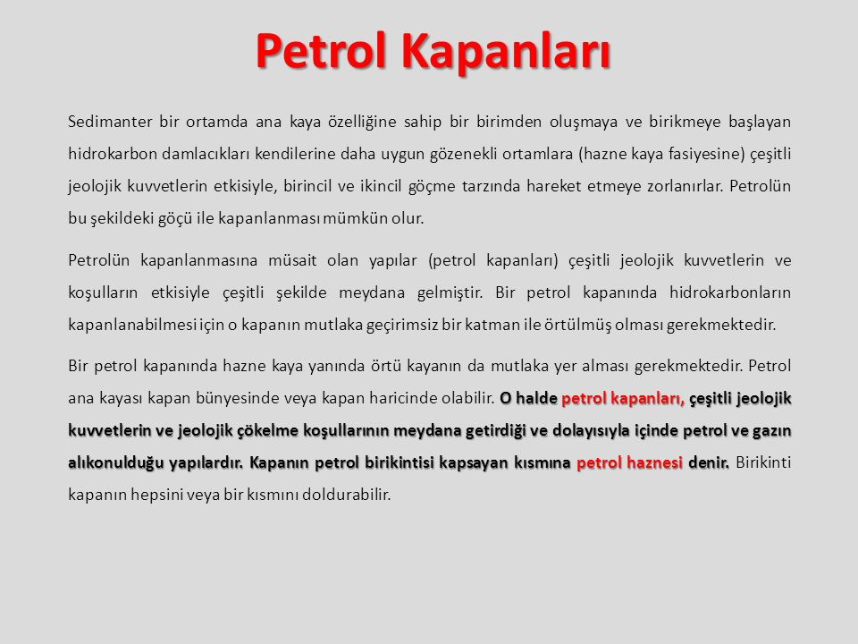Petrol Kapanları