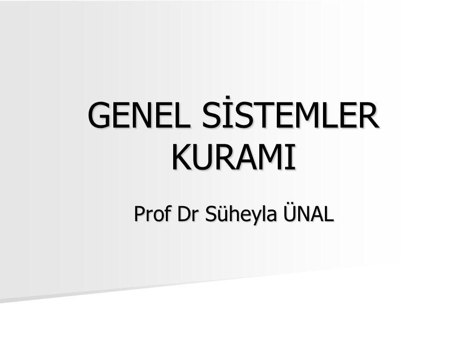 GENEL SİSTEMLER KURAMI