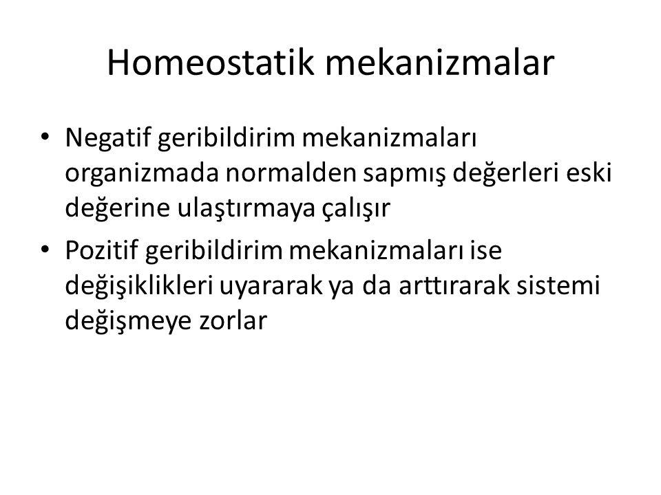Homeostatik mekanizmalar