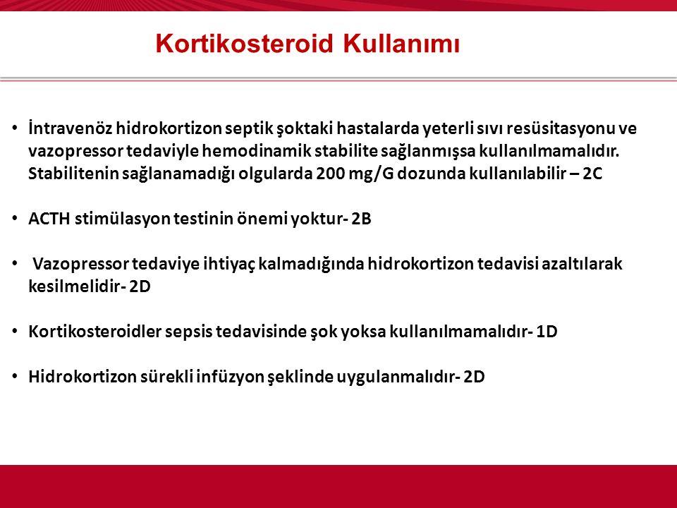 Kortikosteroid Kullanımı