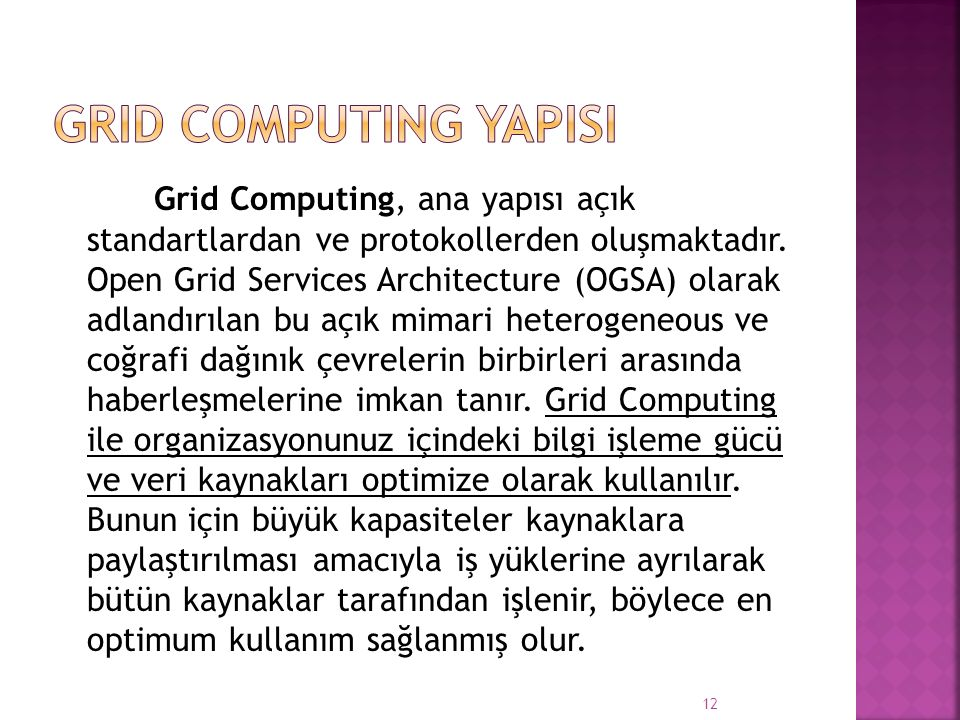 Grid Computing YapIsI