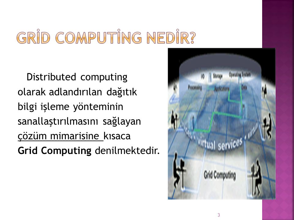 GRİD COMPUTİNG NEDİR Distributed computing
