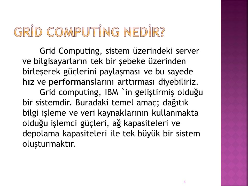 GRİD COMPUTİNG NEDİR