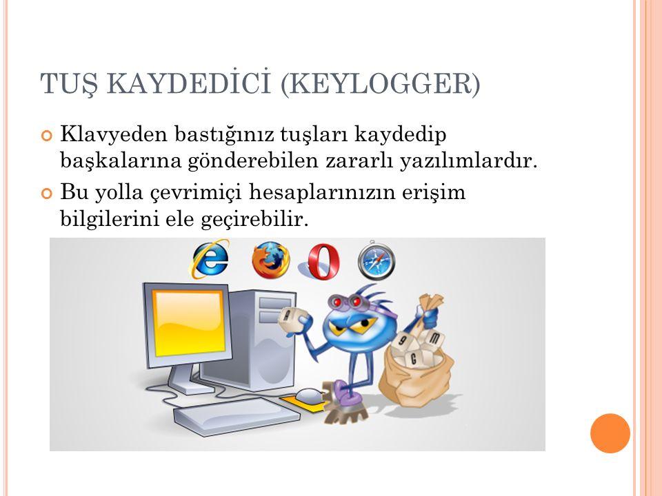 TUŞ KAYDEDİCİ (KEYLOGGER)