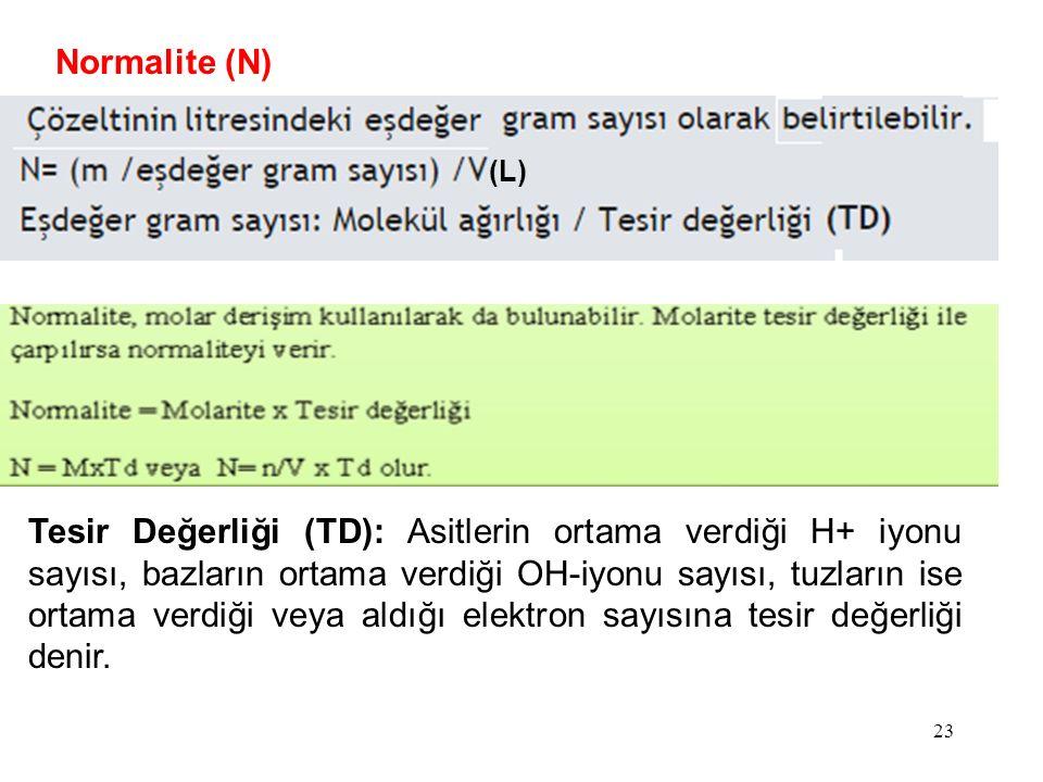 Normalite (N) (L)
