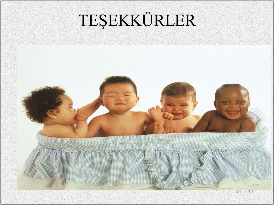 TEŞEKKÜRLER / 32