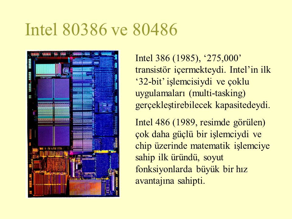 Intel 80386 ve 80486