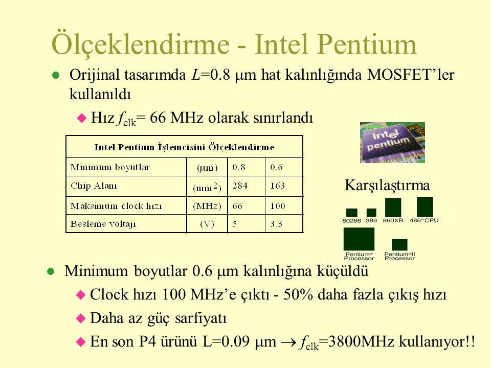 Ölçeklendirme - Intel Pentium