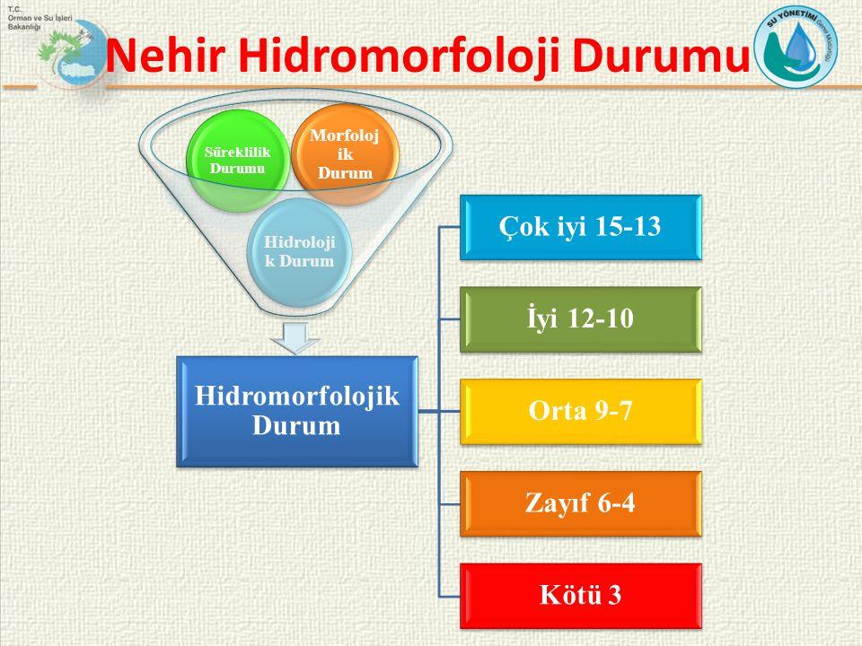 Nehir Hidromorfoloji Durumu