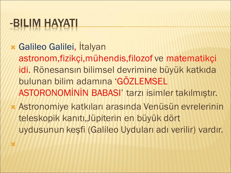 -BilIM HAYATI