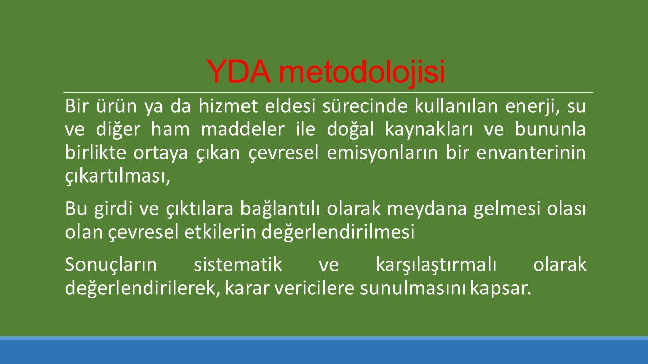 YDA metodolojisi