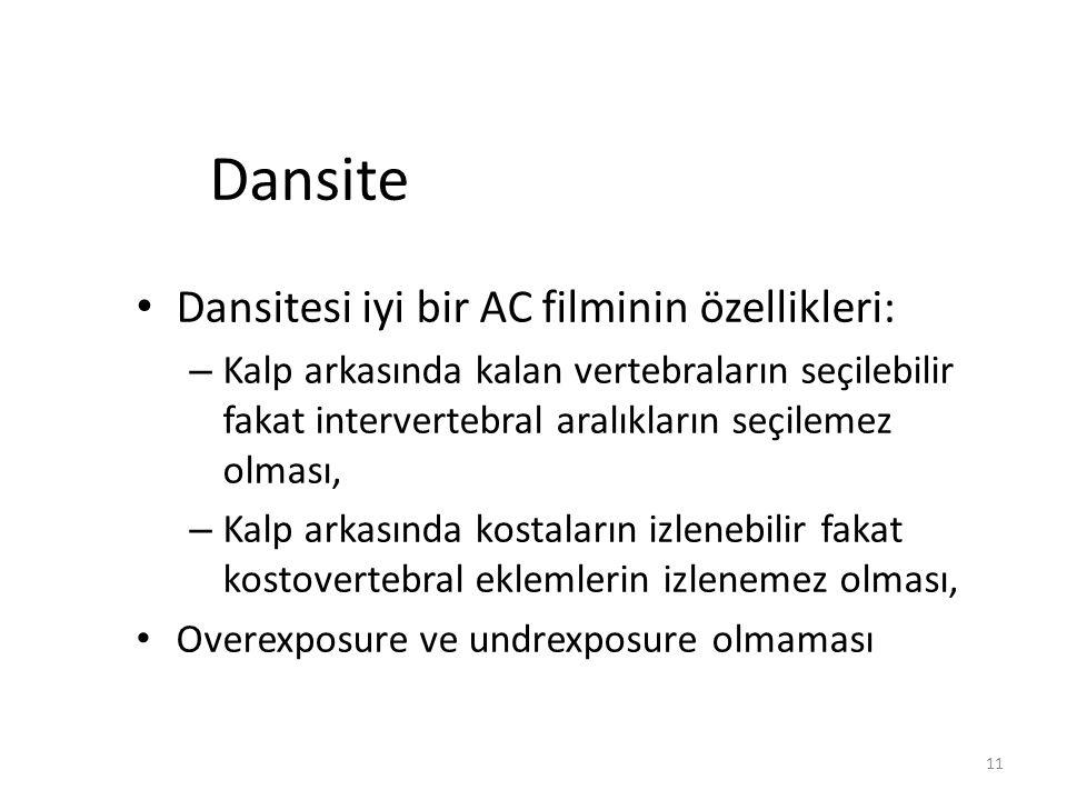 Dansite Dansitesi iyi bir AC filminin özellikleri: