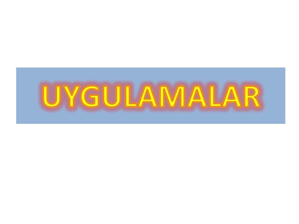 UYGULAMALAR