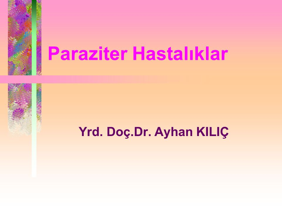 Paraziter Hastalıklar