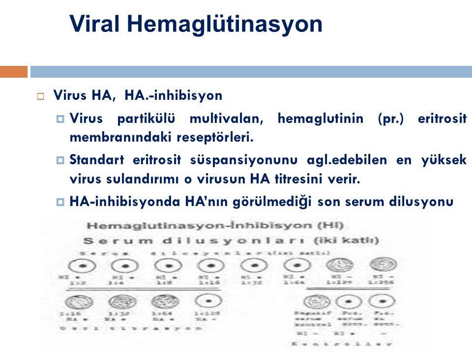 Viral Hemaglütinasyon
