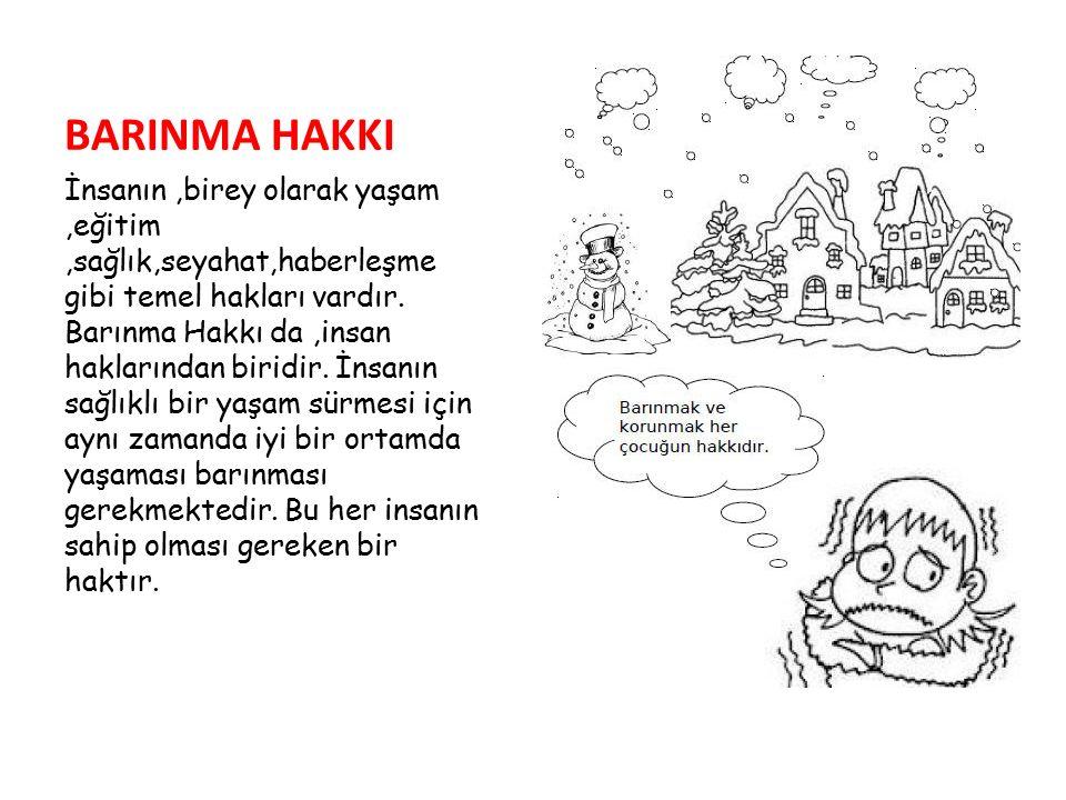 BARINMA HAKKI