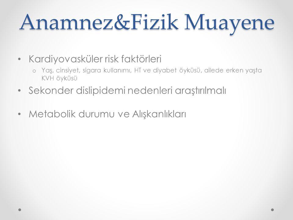 Anamnez&Fizik Muayene