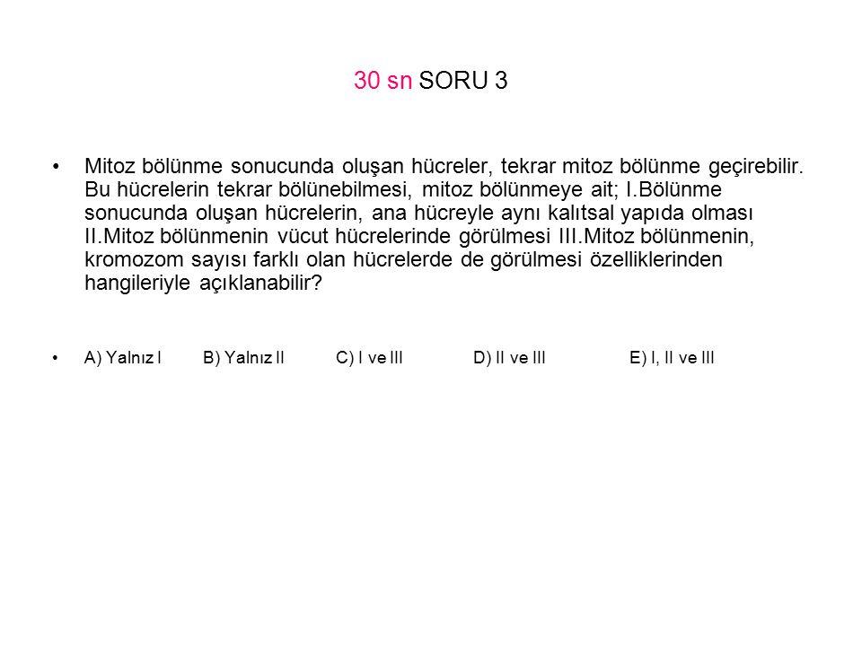 30 sn SORU 3