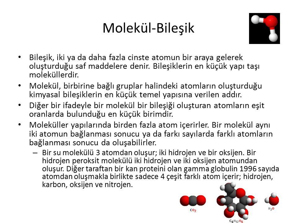 Molekül-Bileşik