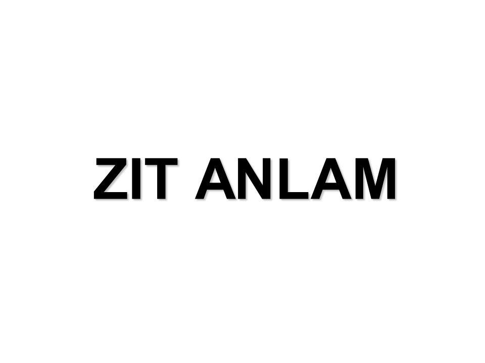 ZIT ANLAM