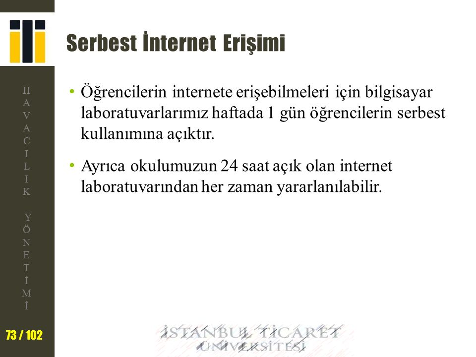Serbest İnternet Erişimi