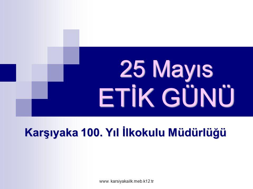 Karşıyaka 100. Yıl İlkokulu Müdürlüğü